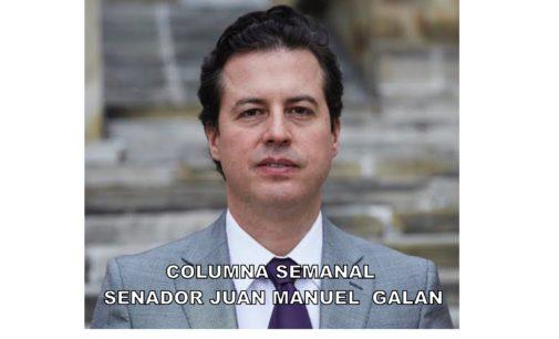 """Columna semanal, senador Juan Manuel  Galan  """"EL liberalismo es mas grande"""""""