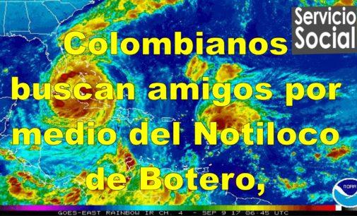 Colombianos buscan amigos por medio del Notiloco  ayudenos