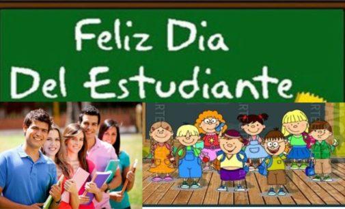 Hoy dia internacional del estudiante saludalos