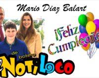 Tia Diaz Balart, y el Notiloco, felicitan al congresista Mario Diaz en su cumpleaños.