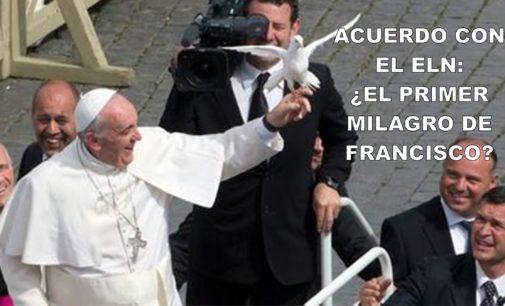 Acuerdo con el Eln: ¿el primer milagro de Francisco?