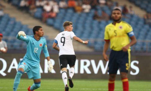 Alemania golea a Colombia  4 – 0 y lo elimina del Mundial Sub-17 de la India