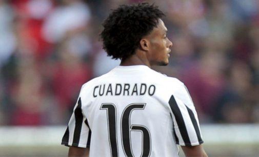 Asi fue el gol de palomita de Cuadrado en el Juventus