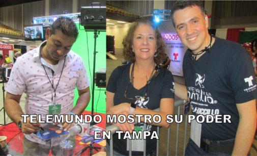Telemundo Tampa, aglomero hoy cientos de familias Hispanas en  la Feria de la Familia