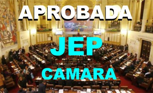 Fue aprobada la JEP en la Camara