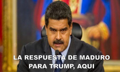 Maduro responde a Trump asi: con la marina de Venezuela
