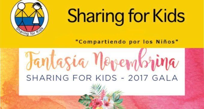 Invitamos a la gala con más clase en Miami,  Sharing  For K ids, información  aquí.