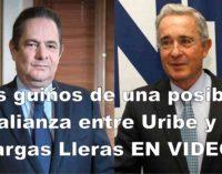 Los guinos de una posible alianza entre Uribe y Vargas Lleras