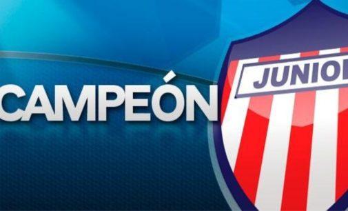 Junior de Barranquilla es campeon de la Copa Colombia