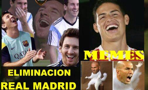 Los divertidos memes de la eliminación del Real Madrid de la Copa del Rey