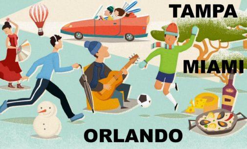 Cosas para hacer este fin de semana en Tampa y Orlando FL.