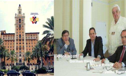 Vargas Lleras revento el Hotel Biltmore de Miami, en el Lente de Botero.