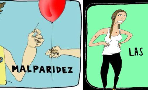 Enfermedades  que solo sufren los colombianos  como la malparidles, le dio una vaina.