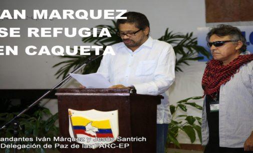 Ivan Marquez sale de Bogota y se refugia en Caqueta