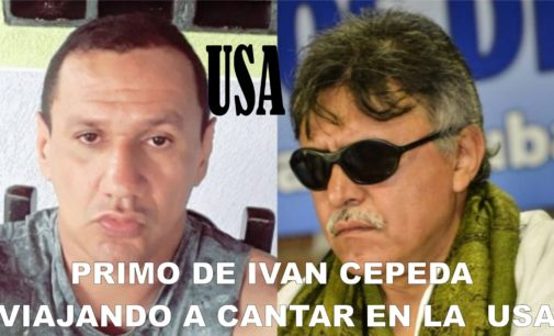 No es el Sobrino de Ivan Cepeda, Marlon Marin es de Ivan Marquez perdón el lapsus del Notiloco