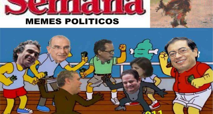 Divertidos memes de  debates politicos de semana.com