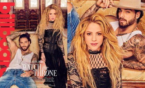 Captan a Shakira con Maluma en sexys poses; mira las fotos