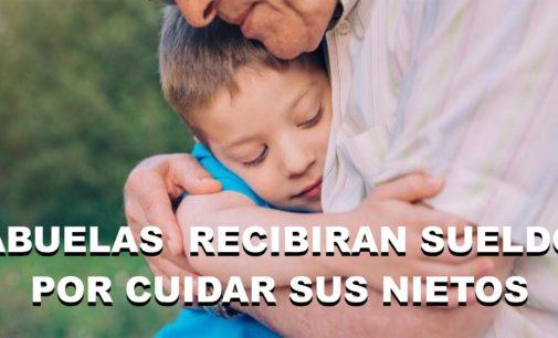 Daran un sueldo fijo a las abuelas que cuiden sus nietos, la información la trae el Notiloco de Botero aquí.