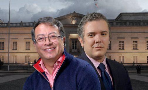 Ivan Duque y Gustavo Petro disputaran la Presidencia de Colombia en segunda vuelta