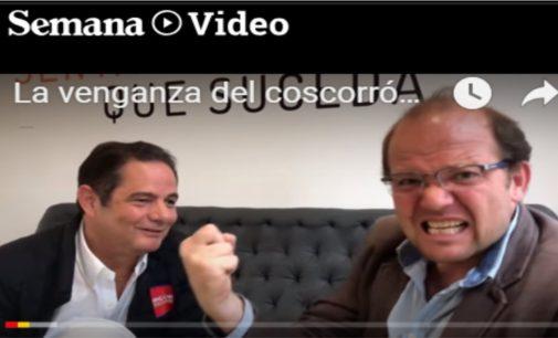 """Vargas Lleras, se le mide a Daniel Samper sobre el coscorrón y le dice """"acabara la robadera""""  el buen humor en campaña"""
