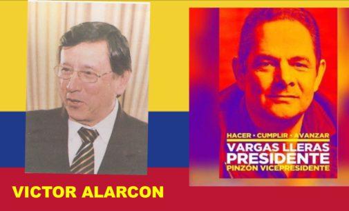 Ex cónsul de Nueva York, Víctor  Alarcón, es el director de la campaña para Estados Unidos  de German Vargas Lleras Email:vargasllerasusa@gmail.com