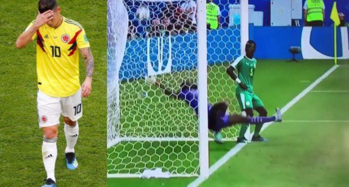 James no se perderá el mundial – El jugador de Senegal que ni se inmutó por el gol de Mina jajajaja