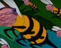 Helicoptero en el que viajaba Uribe fue el que derribó el panal de abejas