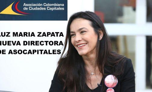 Luz Maria Zapata es la nueva directora de Asocapitales