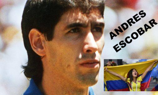 El gol que mato Andres Escobar hoy hace 24 años