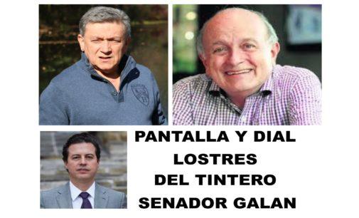 PANTALLA Y DIAL: Los 3 del Tintero de Gardeazabal,  Columna senador Galan
