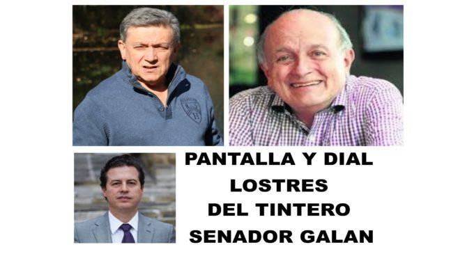 """PANTALLA Y DIAL: Los 3 del Tintero de Gardeazabal  .""""Uribe les midio el aceite""""  Columna senador Galan"""