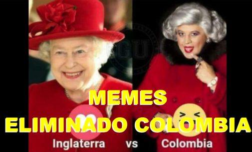 Memes de Colombia tras quedar eliminado del Mundial Rusia 2018 en penales ante Inglaterra