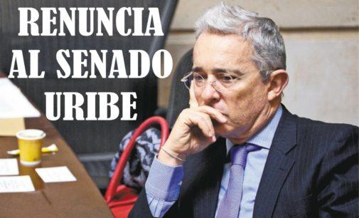 Alvaro Uribe presenta renuncia al Senado por llamado a indagatoria