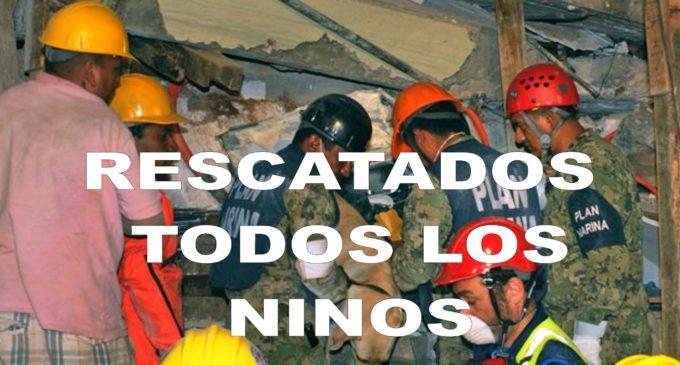 Fueron rescatados todos los niños y el entrenador de la cuevas de Tailandia