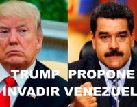 Trump habría propuesto invadir Venezuela a otros dos líderes latinoamericanos.