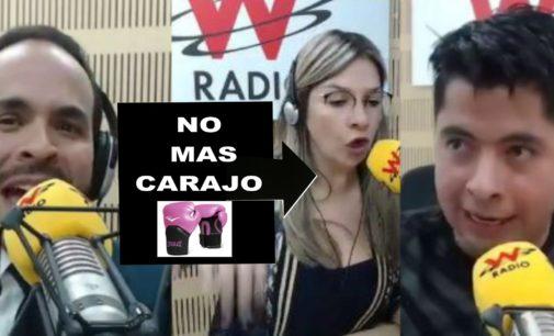 Vicky Davila salvo a panelista en la cabina de la W radio que lo cogieran a golpes, en video