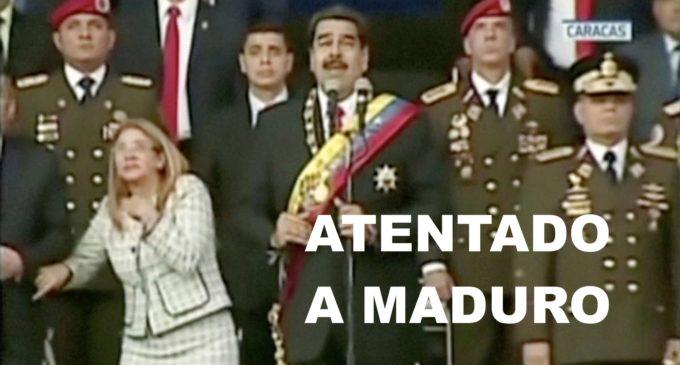 Nicolás Maduro sale ileso de un intento de atentado en Caracas 7 militares heridos