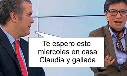 """El presidente Duque, ayudo a conseguir los 11 millones de votos y se reunirá con Claudia """"sin importarle el qué dirán"""""""