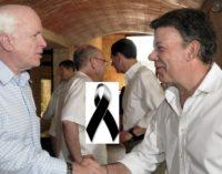 Santos es uno de los invitados especiales al funeral del senador John McCain