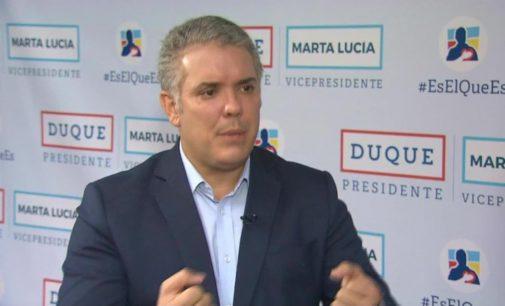 Duque reconoce a Guaidó como presidente encargado de Venezuela. Ahora Duque a sacar los guerrilleros