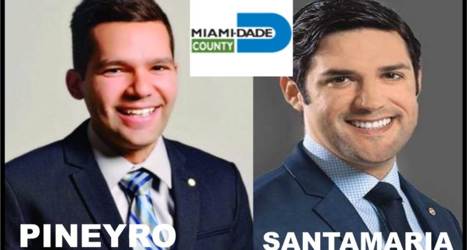 Ni Santamaria ni Pineyro salieron electos en Miami Dade y palante  muchachos, están jóvenes.