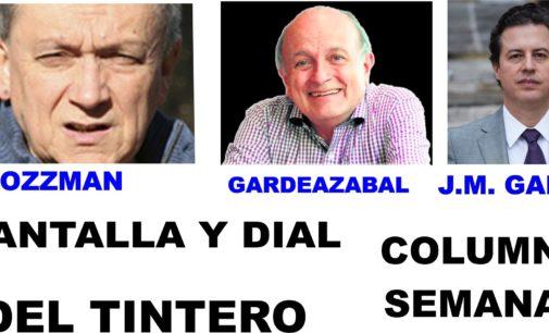 PANTALLA  DIAL Despido masivo de periodistas, LAS TRES DEL TINTERO Mejor llamarlos 'tombos' COLUMNA  J, M, GAALN: Palabras que matan.