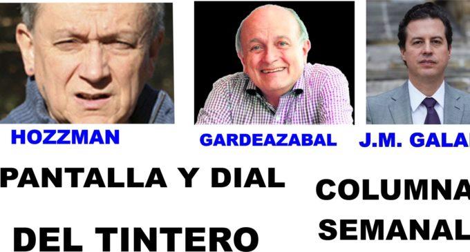 PANTALLA Y DIAL: Caracol-Radio se va con Claudia Lopez   GARDEAZABAL: Las 3 del Tintero   JUAN MANUEL GALAN: Futbol o Victimas