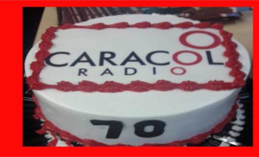 Felicitaciones Caracol cumpliendo 70 años En Miami la radio organizada  lleva 30 años
