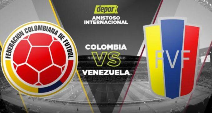 Colombia venció 2-1 a Venezuela en Miami con goles de Falcao y Chara
