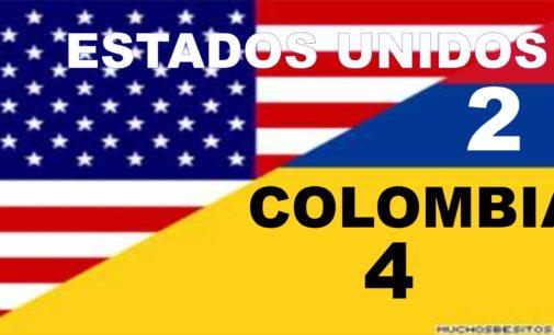 Gano Colombia 4 goles por 2 a EE.UU el amistoso en Tampa