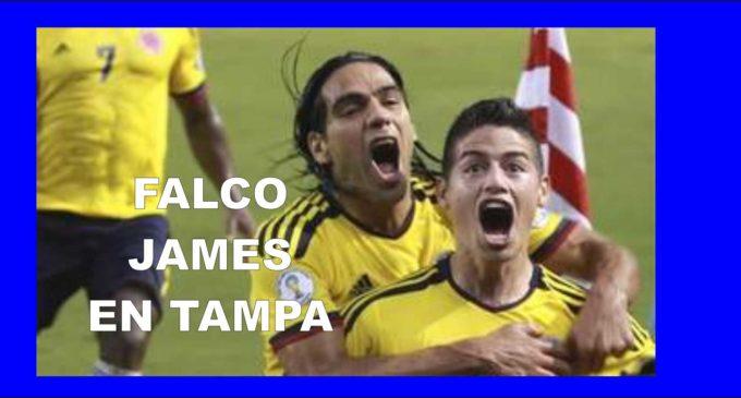 Con James y Falcao la Selección Colombia se concentra en Tampa