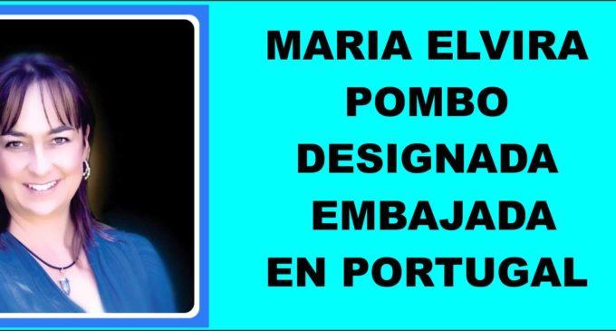 Designada para la embajada en Portugal a remplazar a Carmenza Jaramillo es Maria Elvira Pombo