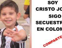 Cayita Daza, desde la USA pide unir fuerzas y rechazar el secuestro del  niño colombiano Cristo Jose, estas  de acuerdo?