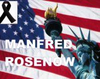 Murio el abogado de inmigración Manfred Rosenow nota de Carlos Catano